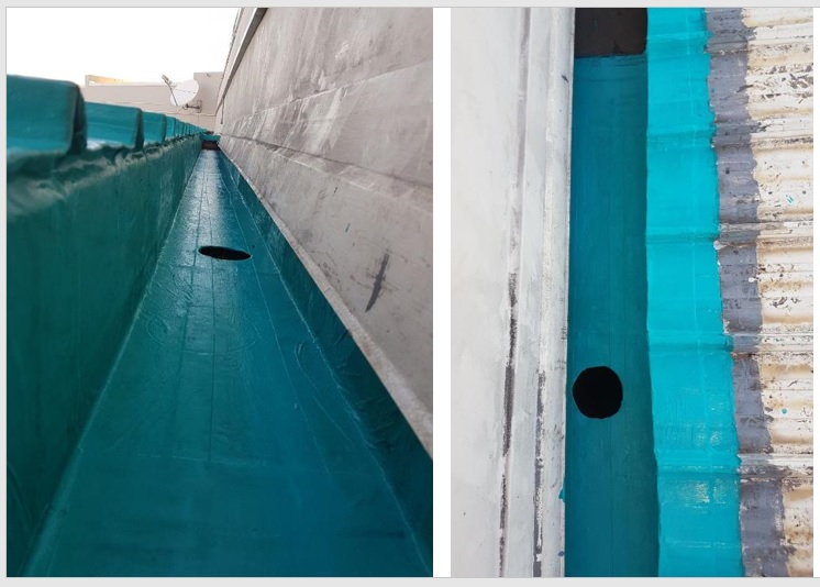 Sealtaq Storm Drain Pipes and Gutter Sealing Systems